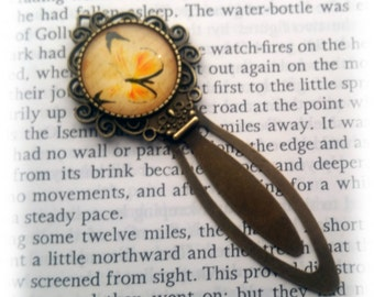 Yellow Butterfly Bookmark
