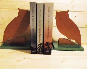 Animal Bookends | Owl | Penguin | Red Squirrel | Cat