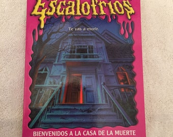 Awesome Goosbumps Book From The 90s Spanish Translation Copy