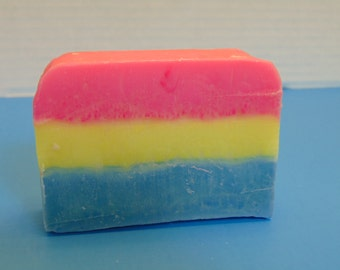 Tangerine Scented Rainbow Soap
