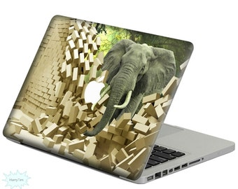Elephant Decal Mac Stickers Macbook Decal Macbook Stickers Apple Decal Mac Decal Stickers
