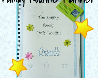 Family Routine Planner