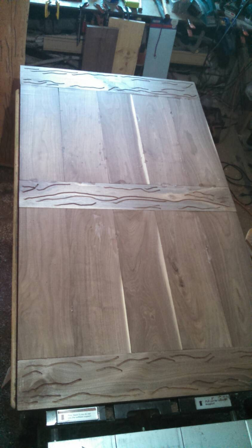 Walnut Epoxy Resin Kitchen Table Top