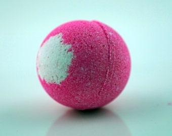 Jamaica me Happy Bath Bomb; All Natural Aromatherapy Fun and Colorful Bath Bomb; 2.5oz 4oz or 7oz  Life Around 2 Angels