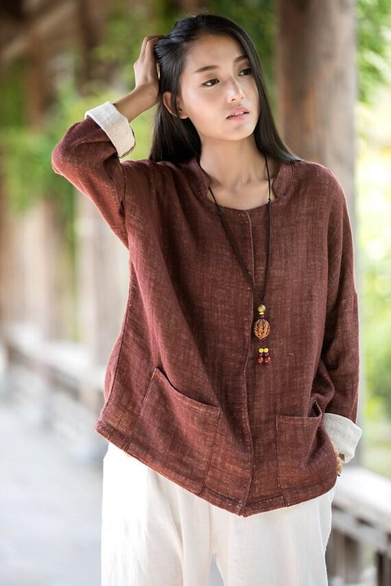 Brown Womens T Shirt