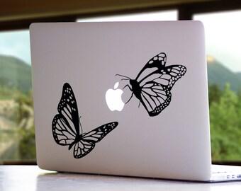 Butterfly Animal MacBook Decal - Mac Laptop Vinyl Sticker