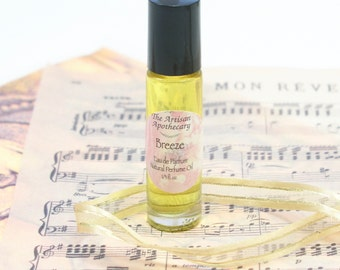 Breeze, Patchouli and Lavender, Roll On Perfume Oil, Patchouli Perfume, Handmade Perfume, Eau de Parfum, Natural Perfume, Lavender Perfume