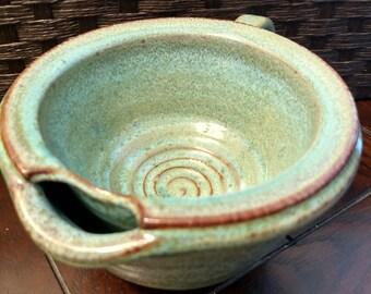 SALE! Hot Lather Shaving Mug - Green
