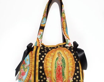 Guadalupe Mexican Mary Purse/ Pinup Rockabilly Purse