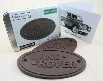 Idea for the Land Rover enthusiast - with gift card