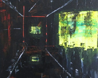 Original Acrylic Abstract Painting