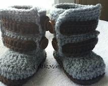 Baby booties strap booties crib shoes handmade crochet 2016 trending