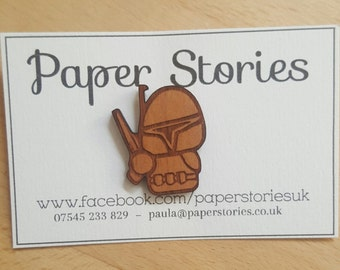 Boba Fett Pin Badge