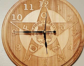 Handmade Wall Clock