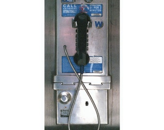 New York City Payphone Poster