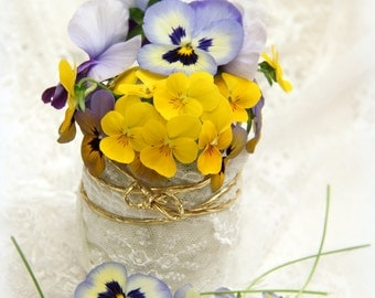 Art photo of pansies, violet pansies photos, decoration with pansy, flowers photo, gift for her, art decoration, art pansies