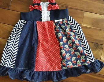 Lily Knot Dress For Girls