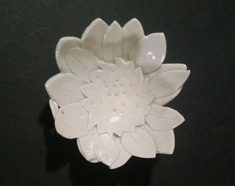 Porcelain Bowl or Tea Light holder #F24 by Skip Lyman