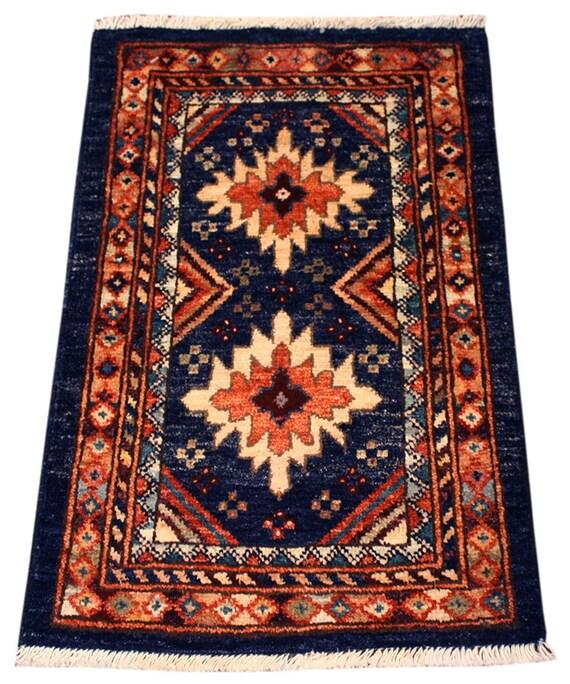 Bathroom Rugs Persian: 1.4x2 Pakistani Oriental Rug Black Area Rug Home Decor