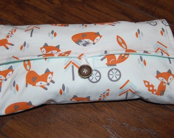 Diaper Clutch, Gender Neutral Changing Pad, Travel Changing Pad