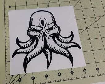 Cthulhu  Decal Sticker