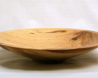 Decorative Pecan Hand Turned Bowl