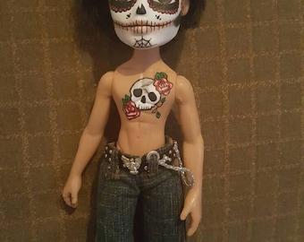 Day of the Dead, Sugar Skull, Dia de los Muertos Bratz doll