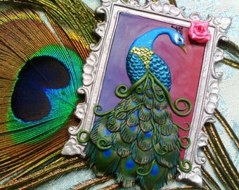 Magnet Magnet Peacock Peacock