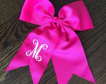 Personalized Cheer Bow