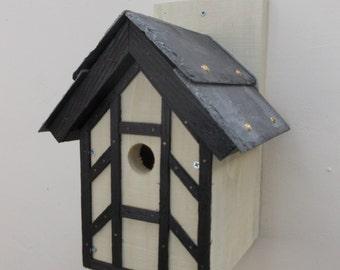 The 'Tudor' Bird Nesting Box - Henry's Bird Boxes, Handmade in Wales