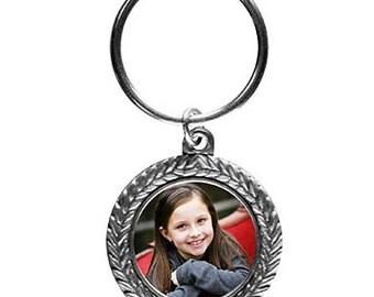 Pewter Key Ring (Custom Photo)