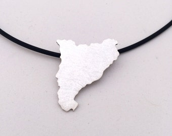 Catalonia Sterling Silver Necklace