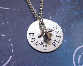 Don't Blink Weeping Angel Necklace