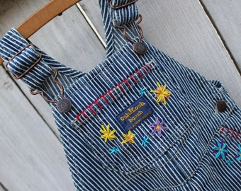 Embroidered OskGosh Overalls - 9M
