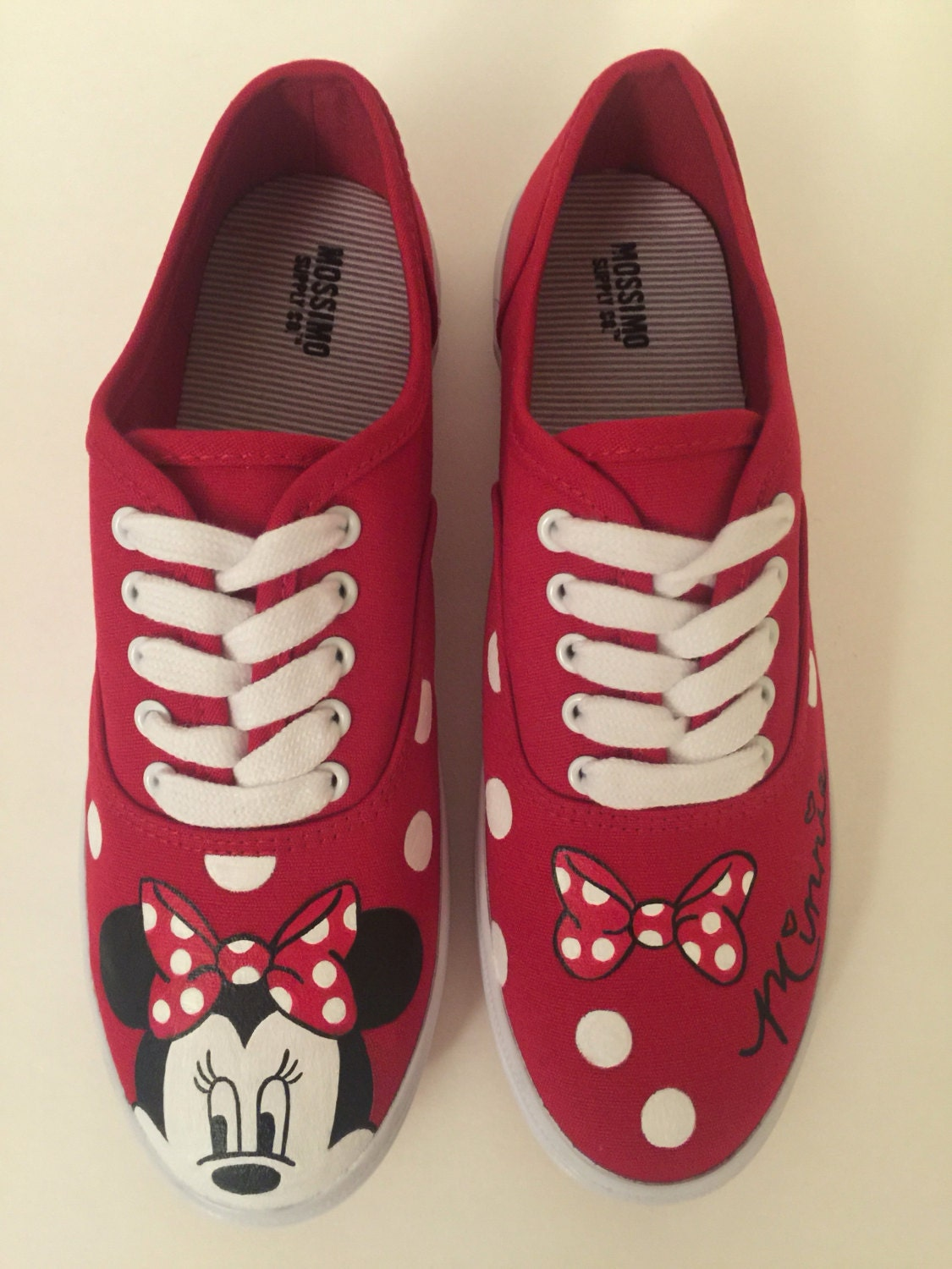 minnie mouse polka dot shoes s shoes by medinaarts