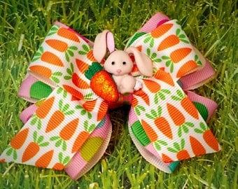 Bunny Treats Bow