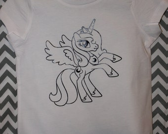 My Little Pony Coloring Shirt Kids / Youth / Toddler