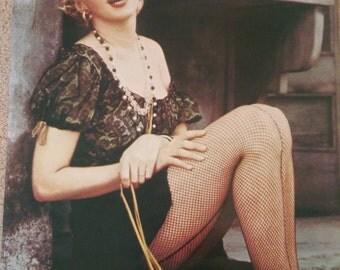 Vintage 1970s Marilyn Monroe Poster