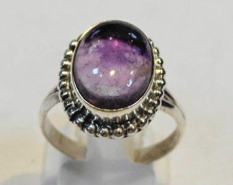 Fantastic Amethyst  925 Sterling Silver Ring Purple Casajewels R135