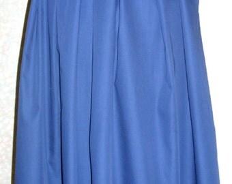 Skirt,Vintage Skirt,1960s skirt , vintage Midnight blue skirt, vintage