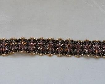 "bracelet ""octopus"" capri gold and brown"