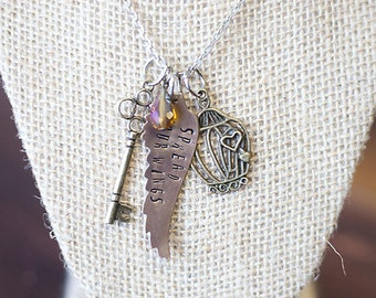Spread Your Wings Charm Necklace
