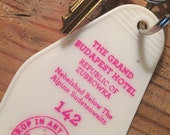 The Grand Budapest Hotel Inspired Keytag