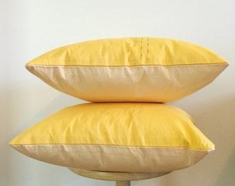 Pink & Yellow Pillow