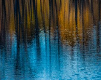 Fall Reflection - **HIGH-QUALITY** shot by Award Winning Photographer Andrew Gacom
