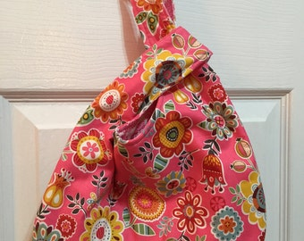 Pink Slouch Bag