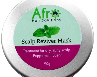 Scalp Reviver Mask for Hair Growth and Itchy Scalp