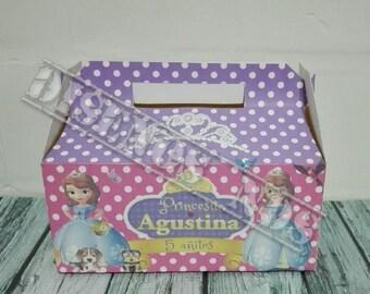 Princess Sofia Candy Box, box for candy of Princess Sofia