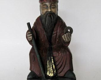 Hand-Carved Wood Bomoh