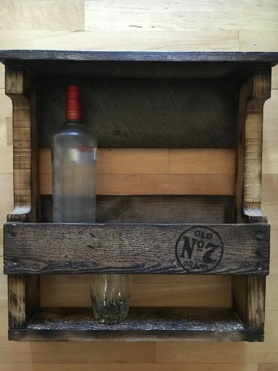 Wood Pallet Whiskey Racks By Woodpallettreasures On Etsy